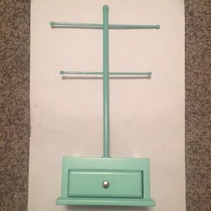 Other - Teal jewelry holder